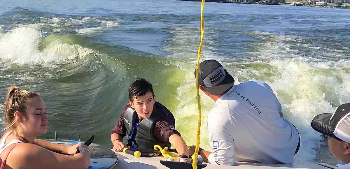 Wakesurfing Lessons Teen