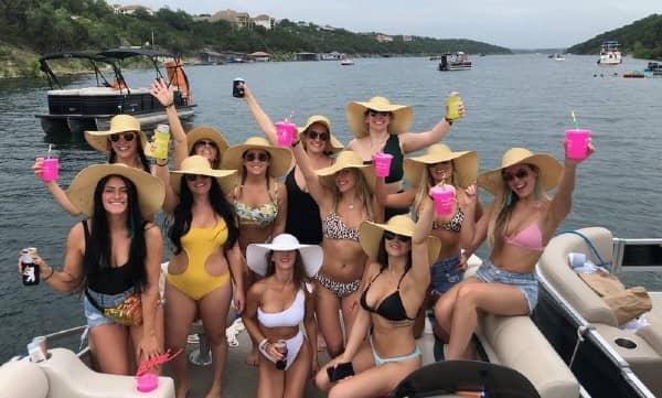 Lake Conroe Boat Party